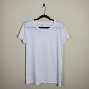 Awake Rolled Sleeves White T-Shirt